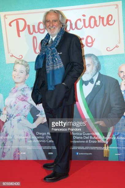 Maurizio Totti attends a photocall for 'Puoi Baciare Lo Sposo' on February 28 2018 in Milan Italy