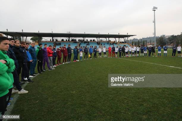 Maurizio Viscidi coordinator of the FIGC national youth teams speaks during the at Coverciano 'Torneo Dei Gironi' Italian Football Federation U18...