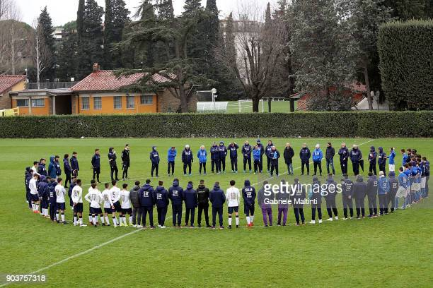 Maurizio Viscidi technical manager of the National Youth FIGC during 'Torneo dei Gironi' Italian Football Federation U16 Tournament at Coverciano on...