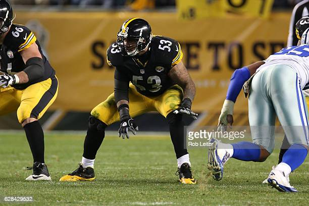 Maurkice Pouncey of the Pittsburgh Steelers in action during the game against the Dallas Cowboys at Heinz Field on November 13 2016 in Pittsburgh...