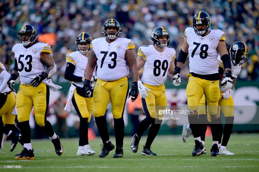 Pittsburgh Steelers vNew York Jets : News Photo