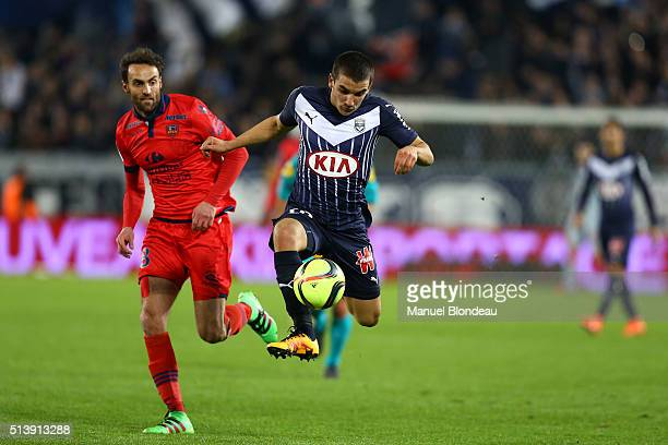 Mauro Arambarri of Bordeaux during the French Ligue 1 match between FC Girondins de Bordeaux v GFC Ajaccio at Stade Chaban Delmas on March 5 2016 in...