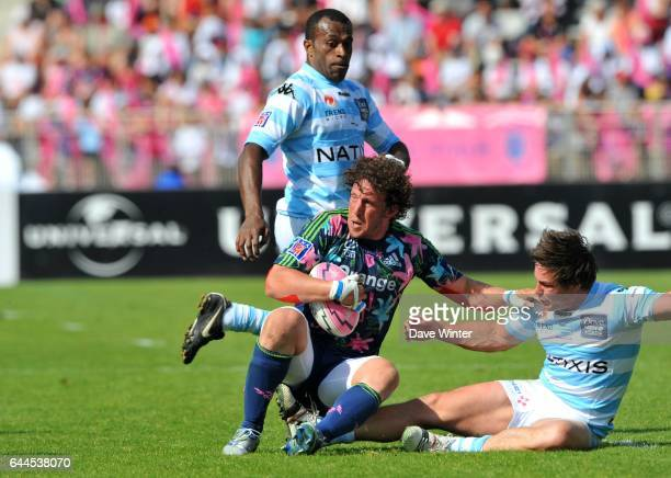 Mauro BERGAMASCO / Henry CHAVANCY Stade Francais / Racing Metro 92 26e journee Top 14 Photo Dave Winter / Icon Sport