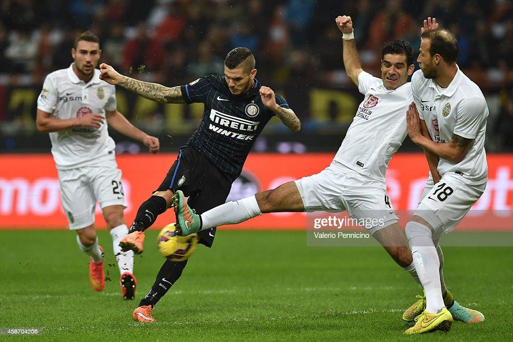 FC Internazionale Milano v Hellas Verona FC - Serie A : Nyhetsfoto