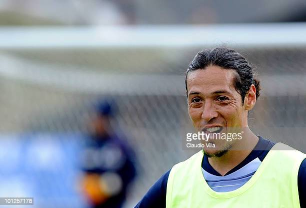 Mauro German Camoranesi of Italy during the Training Session on May 29 2010 in Sestriere near Turin Italy