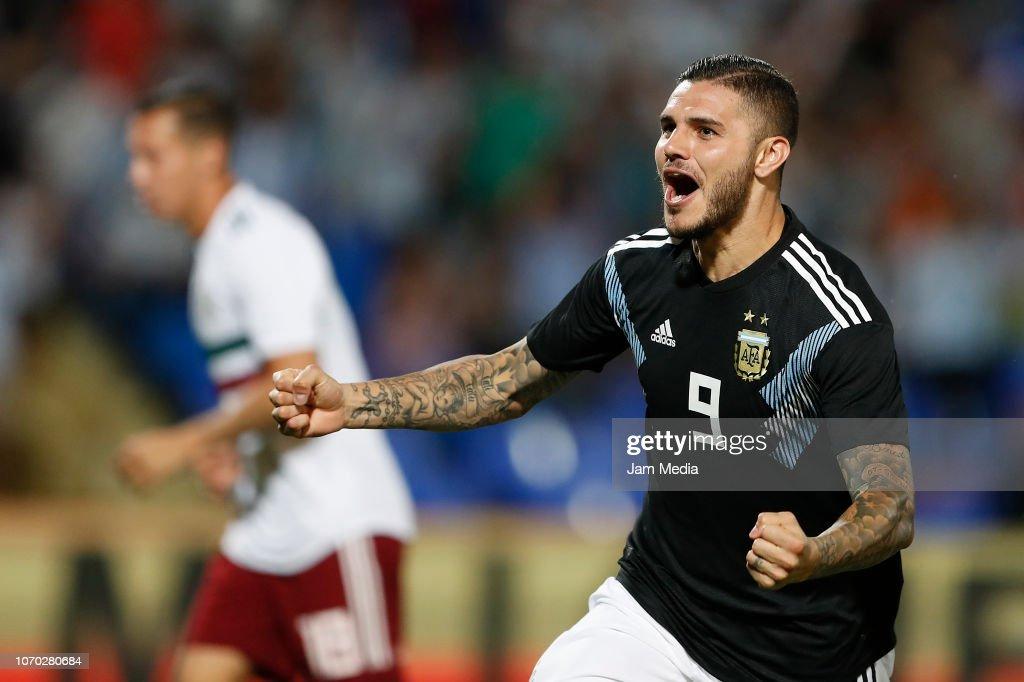 Argentina v Mexico - International Friendly : Nachrichtenfoto