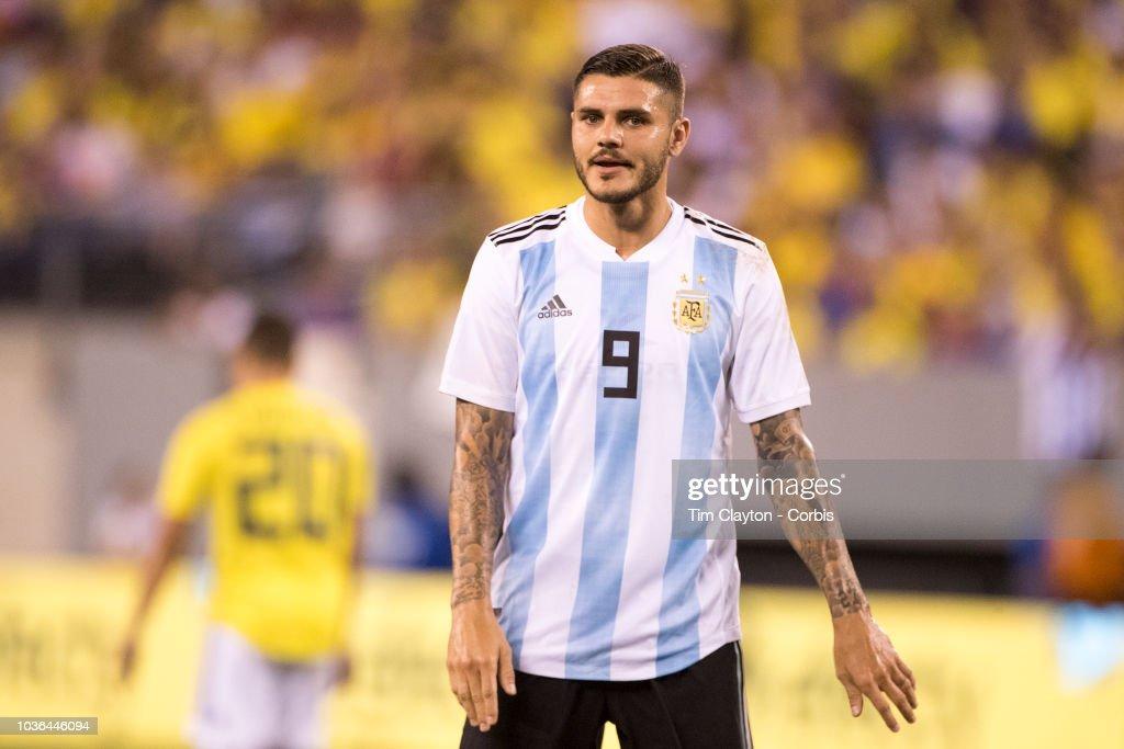 Argentina Vs Colombia : News Photo