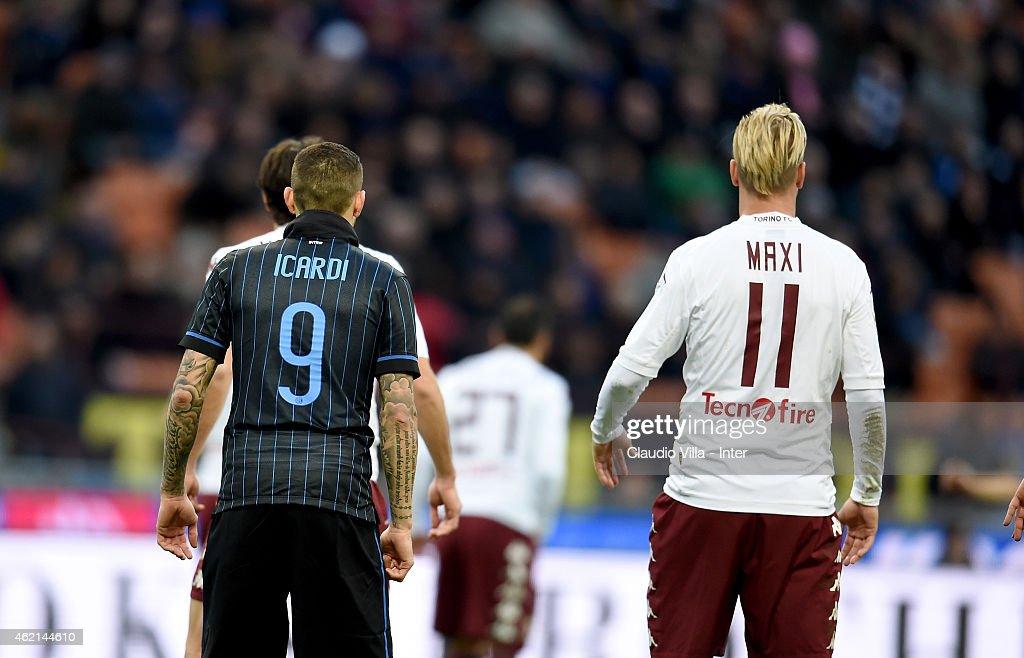 FC Internazionale Milano v Torino FC - Serie A : Foto di attualità