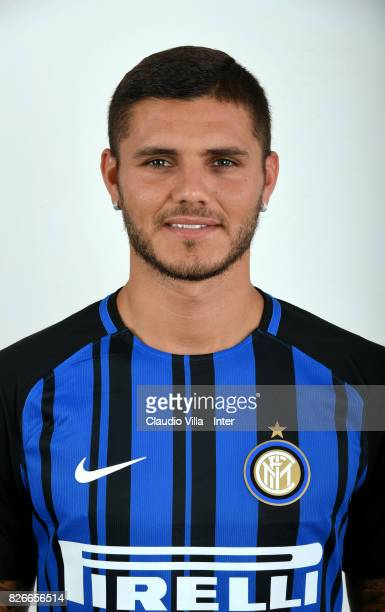 Mauro Icardi of FC Internazionale poses on July 11 2017 in Reischach near Bruneck Italy