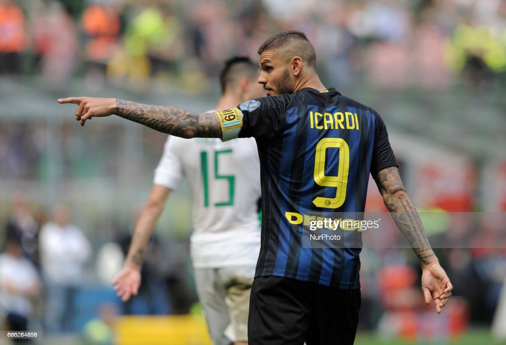 FC Internazionale v US Sassuolo - Serie A : Fotografía de noticias
