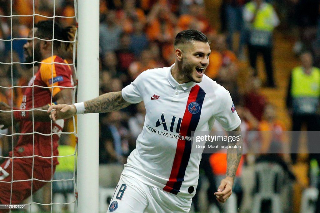 Galatasaray v Paris Saint-Germain: Group A - UEFA Champions League : News Photo