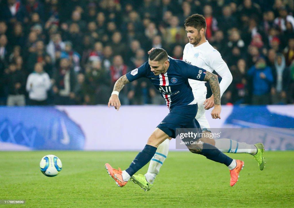 Paris Saint-Germain v Olympique de Marseille - Ligue 1 : Photo d'actualité