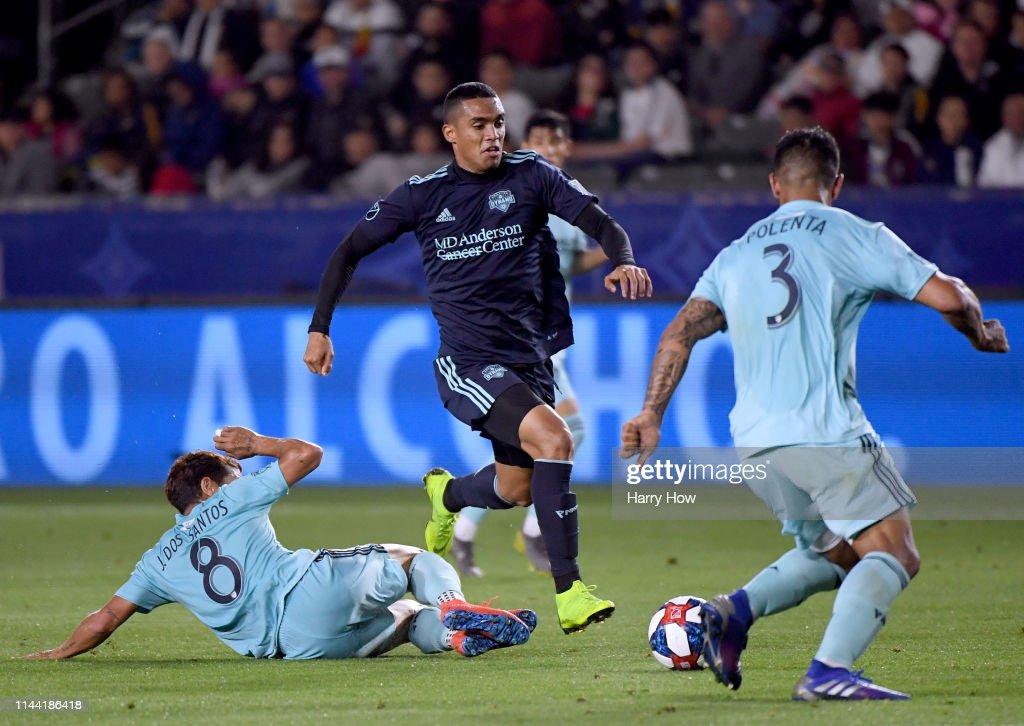 Houston Dynamo v Los Angeles Galaxy : News Photo