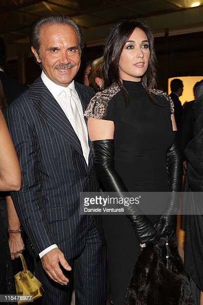 Mauro Masi and Susanna Smit attend the Charity Gala Telethon during Day 8 of the 4th International Rome Film Festival held at the Auditorium Parco...