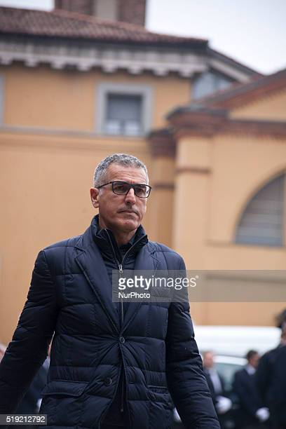 Mauro Tassotti takes part to the Funeral of Cesare Maldini at Saint Ambrogio in Milan on April 5th 2016 Former AC Milan defender and Italy coach...
