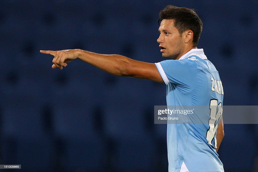 SS Lazio v ND Mura 05 - UEFA Europa League Play-off Round : News Photo