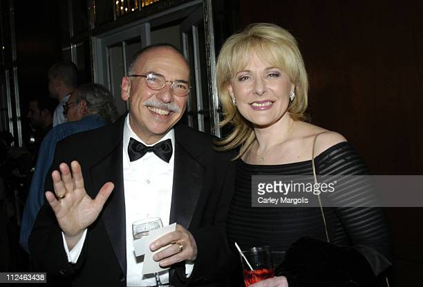 Maury Alter and Marsha Kramer during The 47th Annual New York Emmy Awards Cocktail Reception at The Waldorf Astoria Hotel in New York City New York...