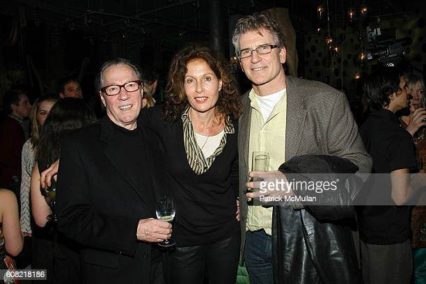 Maury Hopson Jacqueline Schnabel and Phil Coccioletti attend SUNDANCE CHANNEL's Launch Party for THE GREEN at ABC Home on April 12 2007 in New York...