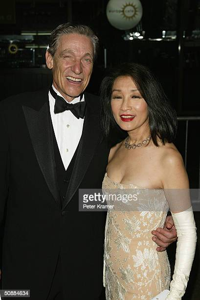 Maury Povich and Connie Chung arrive at the 31st Annual Daytime Emmy Awards at Radio City Music Hall May 21 2004 in New York City