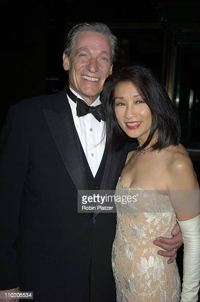 Maury Povich and Connie Chung during 31st Annual Daytime Emmy Awards Arrivals at Radio City Music Hall in New York City New York United States