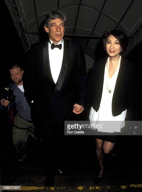 Maury Povich and Connie Chung during Farewell Party for A Current Affair at 67th Street Armory in New York City New York United States