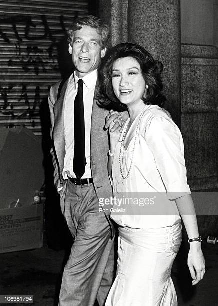 Maury Povich and Connie Chung during Great Balls of Fire New York Premiere in New York City New York United States