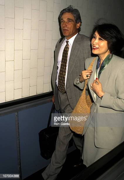 Maury Povich and Connie Chung during Maury Povich and Connie Chung at Los Angeles International Airport June 4 1996 at Los Angeles International...