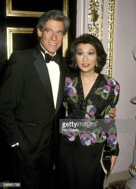 Maury Povich and Connie Chung during NATAS Emmy Recognition Awards at Plaza Hotel in New York City New York United States