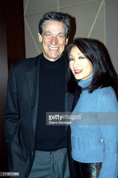 Maury Povich and Connie Chung during The Fog of War New York Private Screening at MGM Screening Room in New York City New York United States