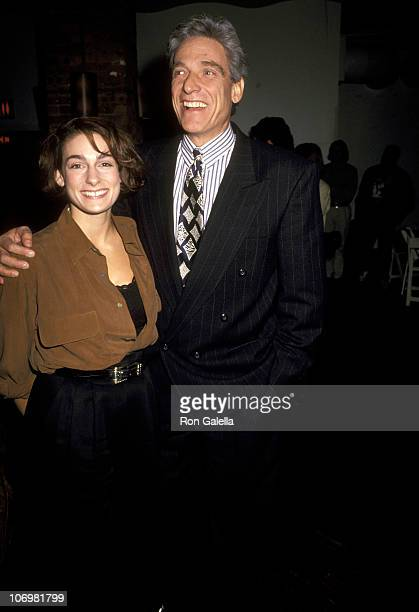Maury Povich and Daughter Amy Povich during Publication Party for The Scorsese Picture at Tribeca Grill in New York City New York United States