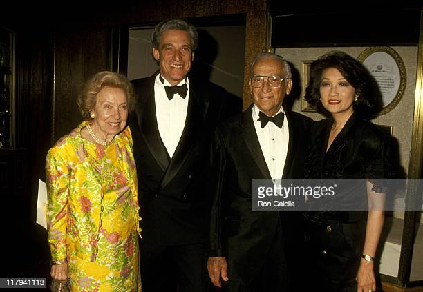 Maury Povich Connie Chung and Maury Povich's Parents