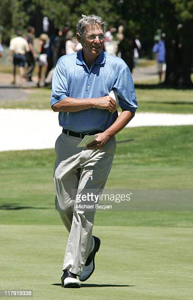Maury Povich during American Century Celebrity Golf Championship July 16 2006 at Edgewood Tahoe Golf Course in Lake Tahoe California United States