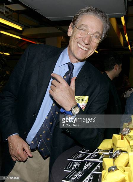 Maury Povich with watch by Invicta during 31st Annual Daytime Emmy Awards Presenters Gift Lounge Day 1 at Radio City Music Hall in New York City New...