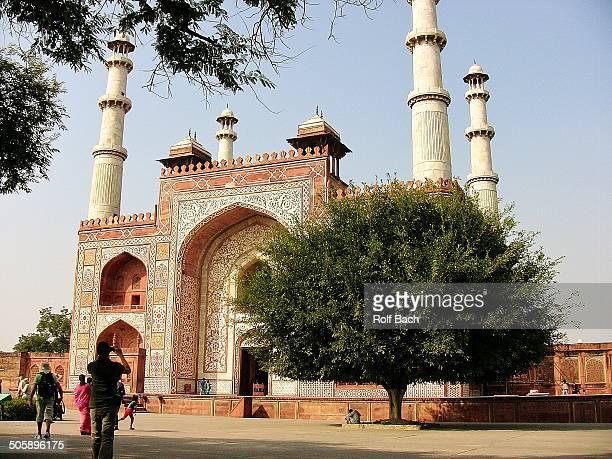Mausoleum Akbar in Agra