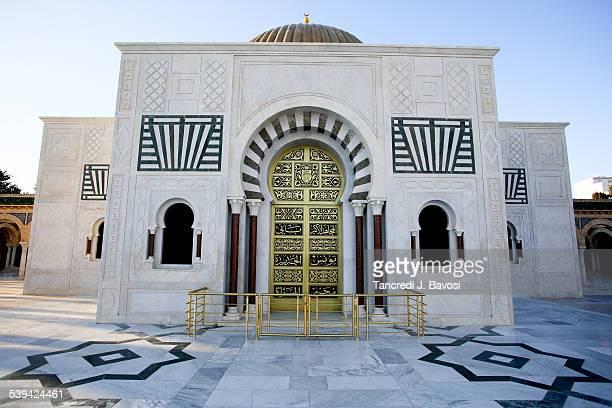 mausoleum of habib bourguiba - mausoleum stock pictures, royalty-free photos & images