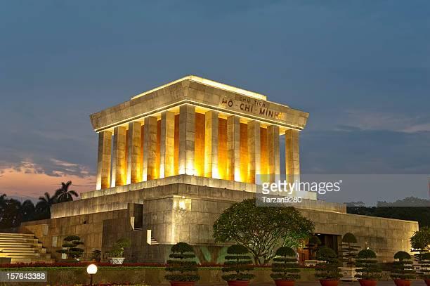 Mausoleum of Ho Chi Minh in Hanoi