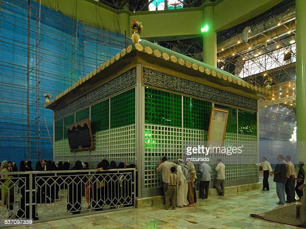 mausoleum of imam khomeini - ayatollah khomeini stock pictures, royalty-free photos & images
