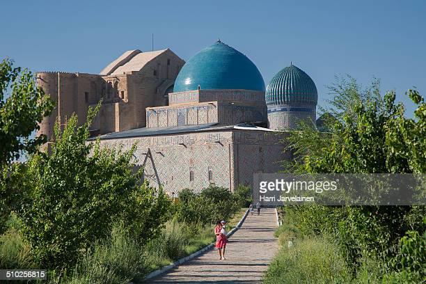 Mausoleum of Khoja Ahmed Yasawi in Turkistan Kazakhstan