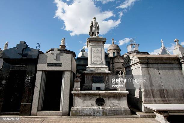 Mausoleums At The Cementerio De La Recoleta Buenos Aires Capital Federal Argentina