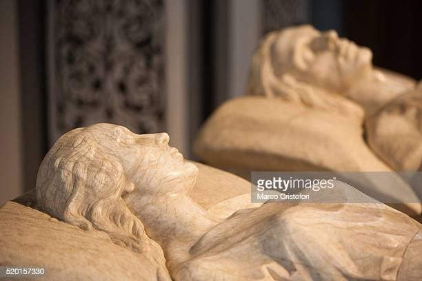Mausoleum/tomb of Lovers of Teruel. Teruel. Aragon. Spain. Europe.