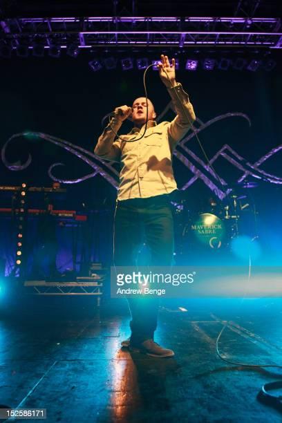 Maverick Sabre performs on stage at O2 Academy on September 22, 2012 in Leeds, United Kingdom.