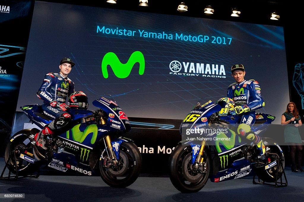 Movistar Yamaha MotoGP 2017 Presentation
