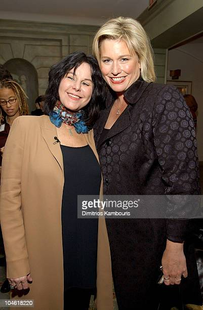 Mavis Leno and Emme during Dove Presents the Woman's Day Second Annual Women Who Inspire Us Luncheon at The Pierre Hotel in New York City New York...