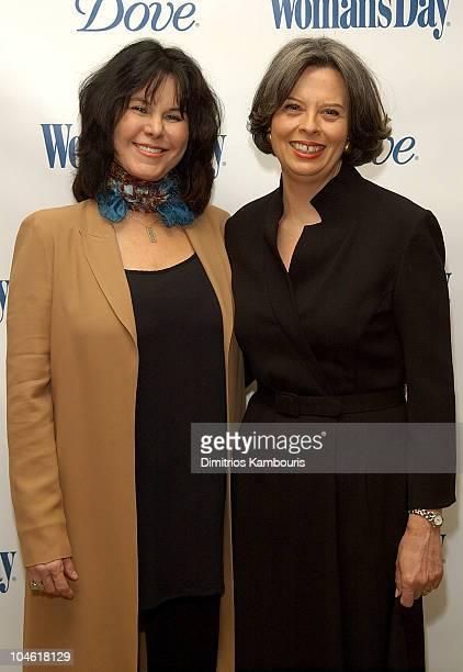 Mavis Leno and Jane Chesnutt EditorinChief of Woman's Day