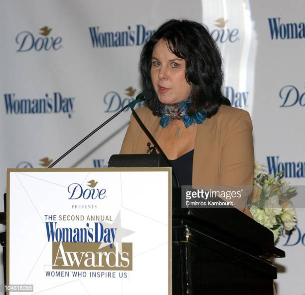 Mavis Leno during Dove Presents the Woman's Day Second Annual Women Who Inspire Us Luncheon at The Pierre Hotel in New York City New York United...