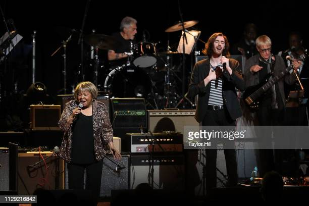 Mavis Staples and Hozier perform at Beacon Theatre on March 7 2019 in New York City