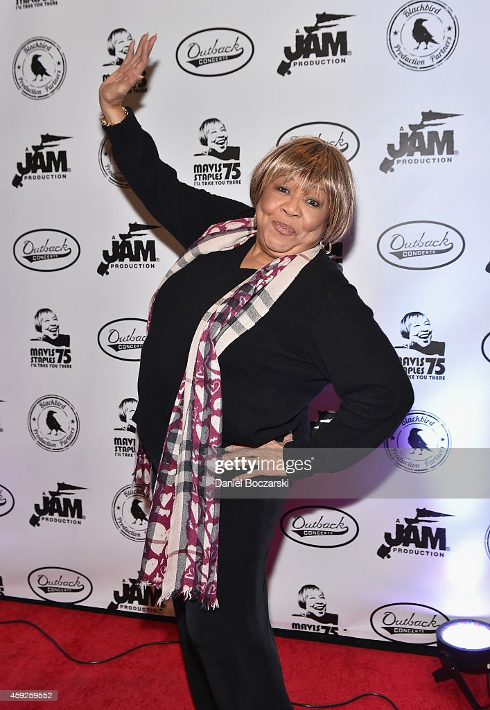 I'll Take You There: Celebrating 75 Years Of Mavis Staples - Arrivals
