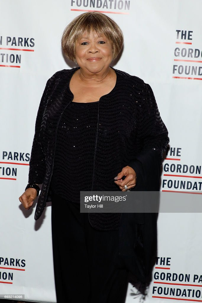 Mavis Staples attends the 2016 Gordon Parks Foundation Annual Gala at Cipriani 42nd Street on June 6, 2017 in New York City.