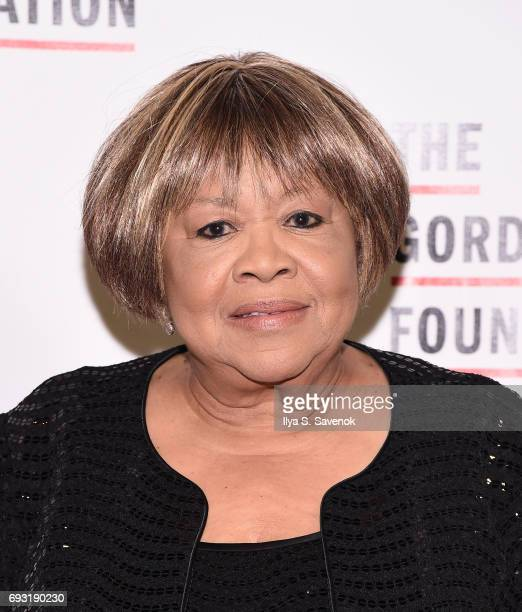 Mavis Staples attends the 2017 Gordon Parks Foundation Awards Gala at Cipriani 42nd Street on June 6 2017 in New York City