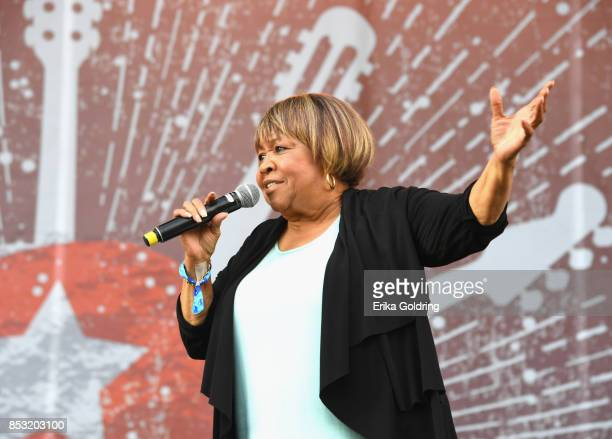 Mavis Staples performs at Pilgrimage Music Cultural Festival on September 24 2017 in Franklin Tennessee